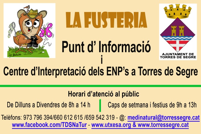 Cartell La Fusteria_marró copia